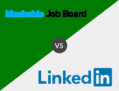 Mashable Job Board vs. LinkedIn