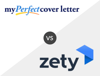 MyPerfectCoverLetter vs. Zety