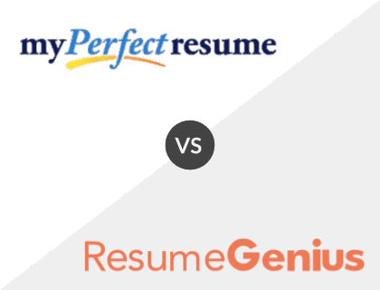 MyPerfectResume vs. Resume Genius