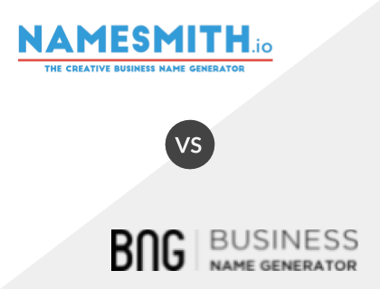 Namesmith.io vs. Business Name Generator