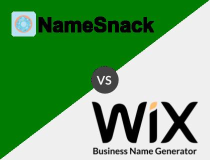 NameSnack vs. Wix