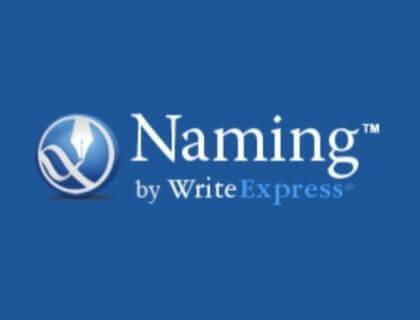 Naming by WriteExpress