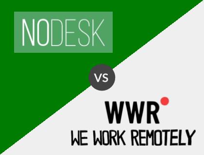 Nodesk vs. WeWork Remotely
