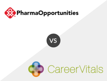 PharmaOpportunities vs. CareerVitals