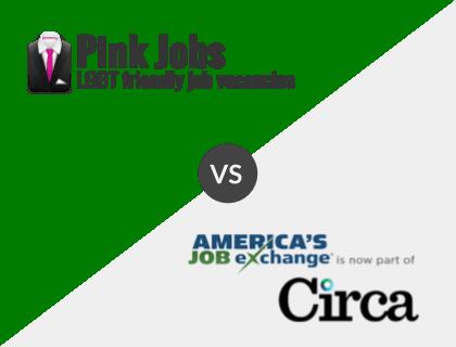 Pink Jobs vs. America's Job Exchange