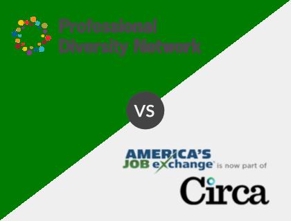 Professional Diversity Network vs. America's Job Exchange