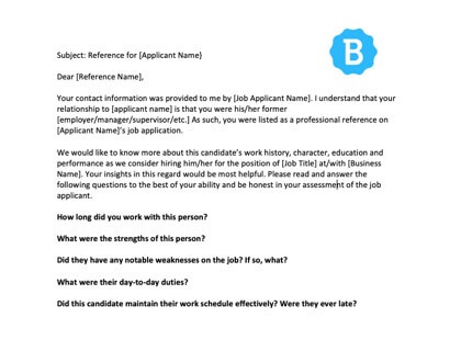 Letter To Former Employer For Rehire Sample from www.betterteam.com