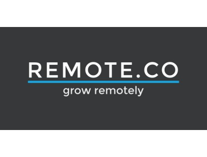 Remote.co`s logo - grow remotely