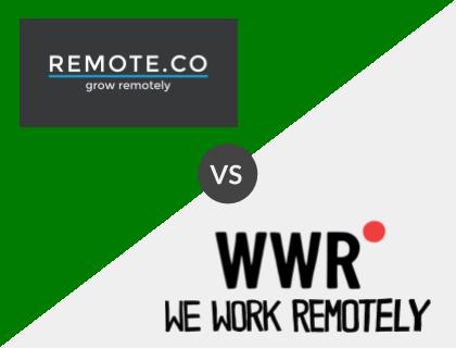 Remote.co vs. WeWorkRemotely