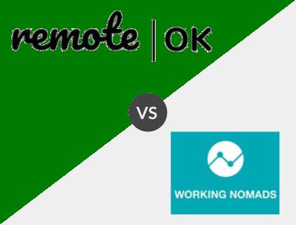 RemoteOK vs. Working Nomads