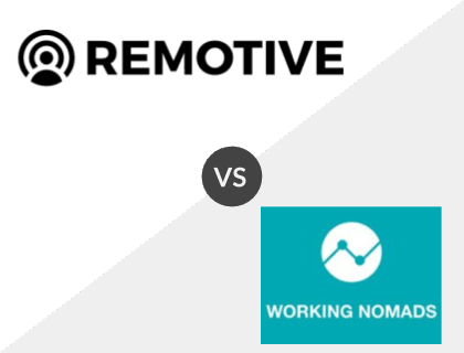 Remotive vs. Working Nomads