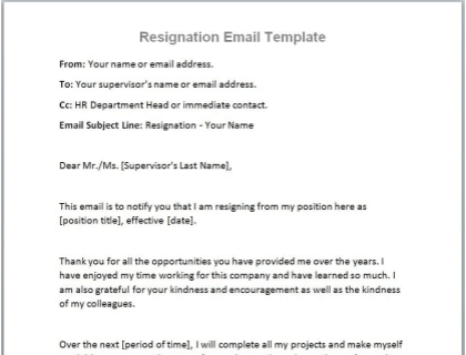 Resign From A Job Letter from www.betterteam.com