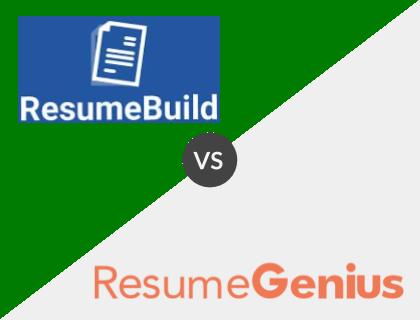 Resume Build vs. Resume Genius