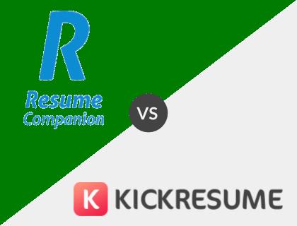 ResumeCompanion vs. Kickresume