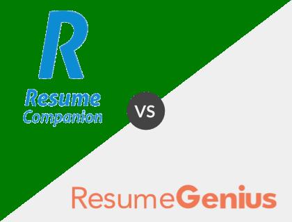 ResumeCompanion vs. Resume Genius