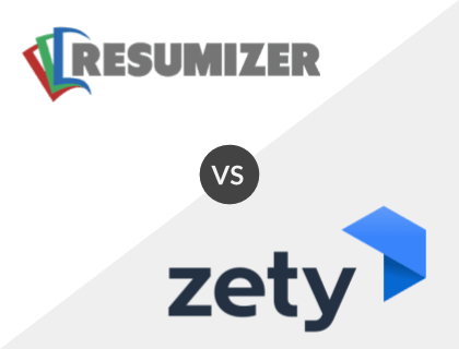 Resumizer vs. Zety