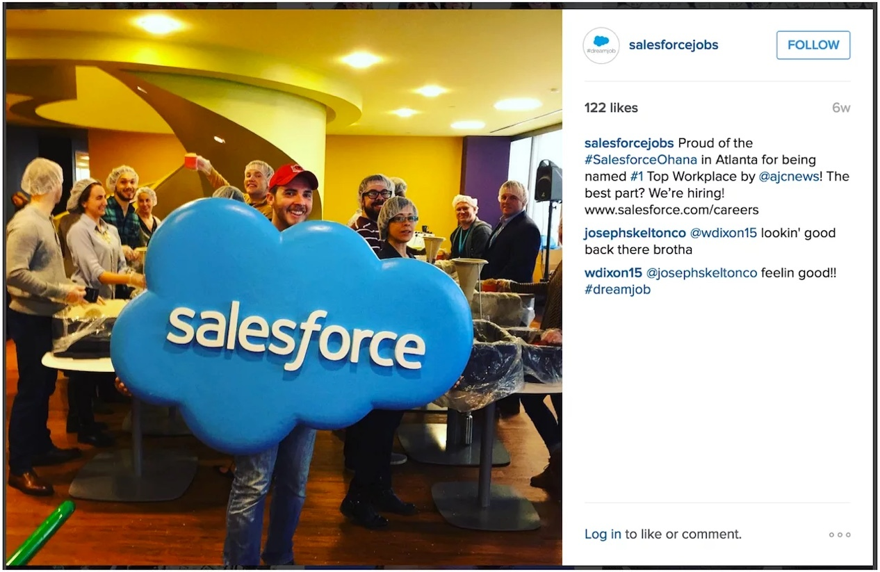 Salesforce Instagram Example