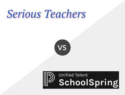 Serious Teachers vs. SchoolSpring