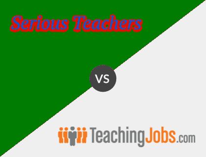 Serious Teachers vs. TeachingJobs.com