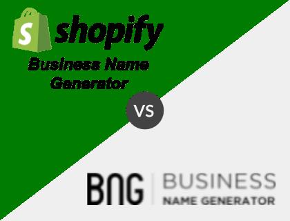 Shopify vs. Business Name Generator