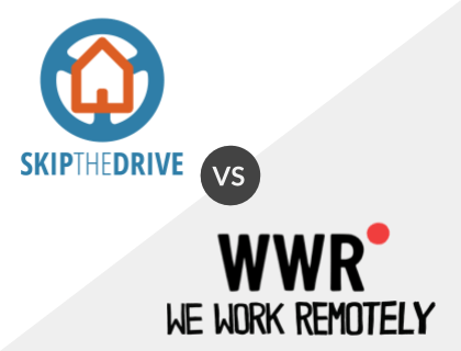 SkipTheDrive vs. WeWorkRemotely