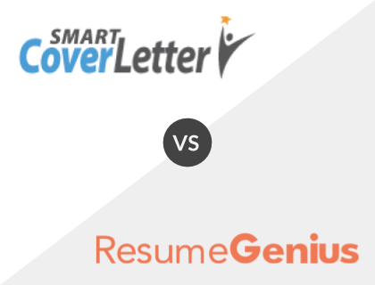 SmartCoverLetter vs. Resume Genius