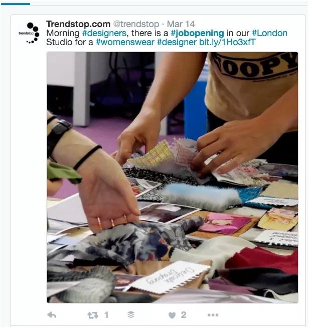 Social Recruiting Hashtag Example