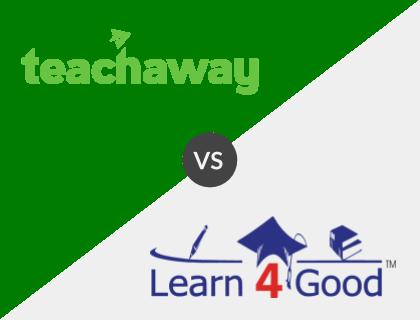 Teach Away vs. Learn4Good