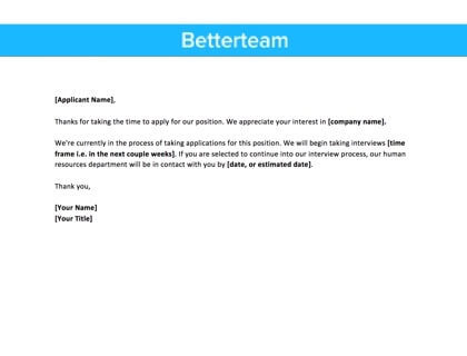 Thank You For Interview Letter From Employer from www.betterteam.com