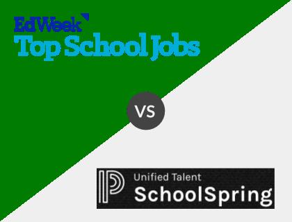 TopSchoolJobs vs. SchoolSpring