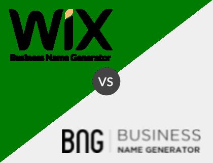 Wix vs. Business Name Generator