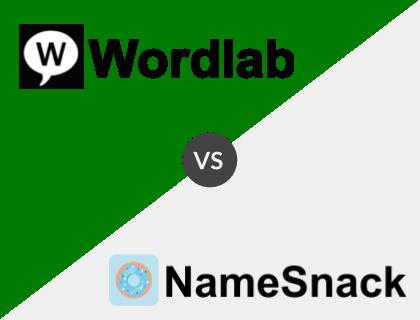 Wordlab vs. NameSnack