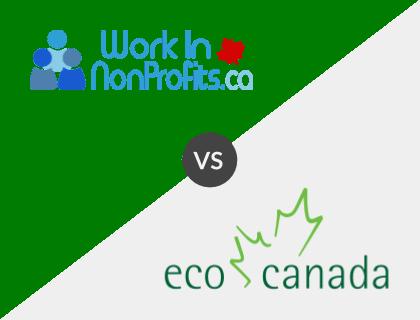 Work in Non-Profits.ca vs. Eco Canada