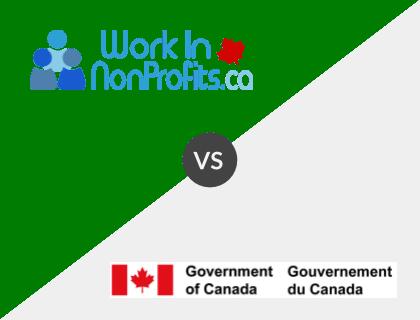Work in Non-Profits.ca vs. Job Bank