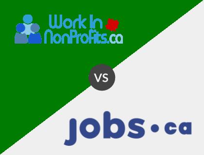Work in Non-Profits.ca vs. Jobs.ca
