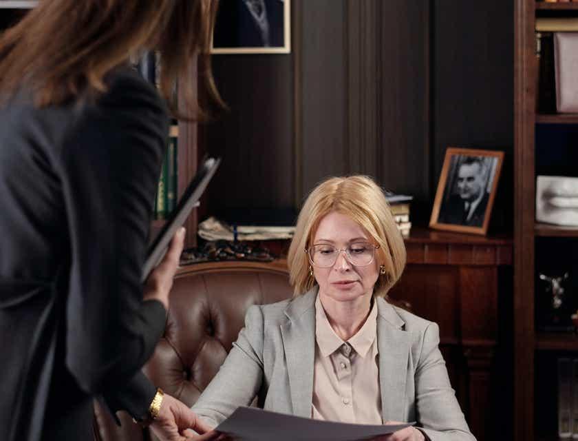 Legal Secretary Interview Questions