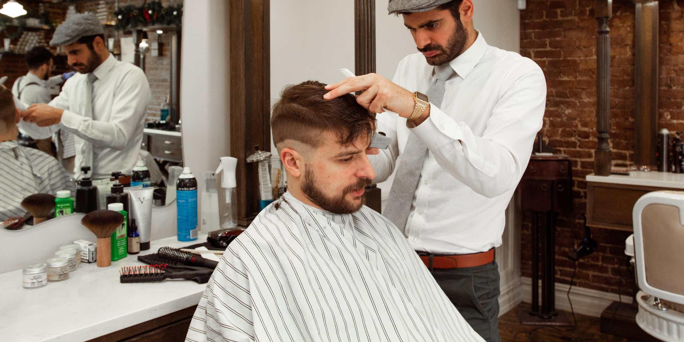 Barber Job Description