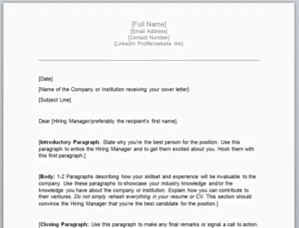 How To Write A Cover Letter A Complete Guide