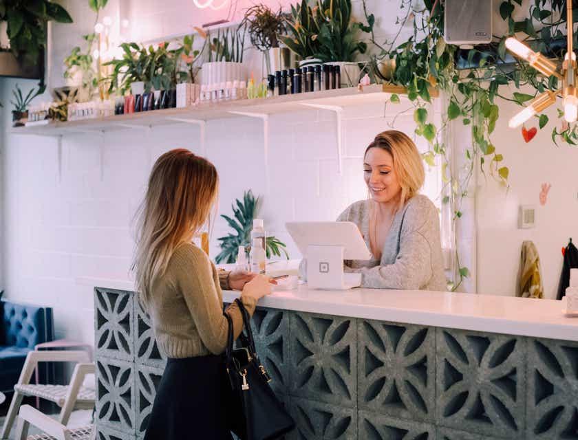 Salon Receptionist Interview Questions